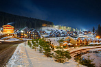 Bukovel Winter View