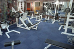 Gym at at President Hotel